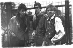 The Buckaroos 1989 : Jim L Buck, TB Noze & Franck Necchi.