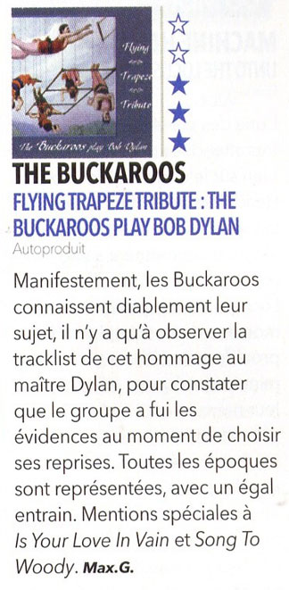Article presse de Rock First septembre 2011